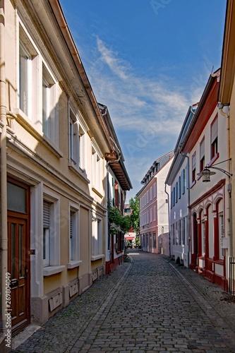 In Den Strassen Der Altstadt Von Bad Durkheim In Rheinland Pfalz