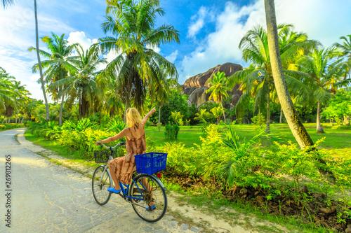 La Digue, Seychelles Fototapet