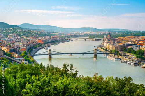 Canvas Prints Budapest Budapest at sunset