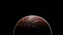Low Key Basketball 3d Rendering