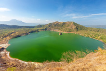 Taal Lake In Batangas Near Man...