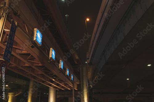 ジャンクションの夜景 Wallpaper Mural