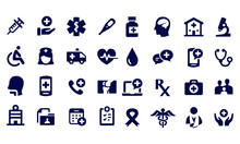 Exercise And Relaxation Icons ...