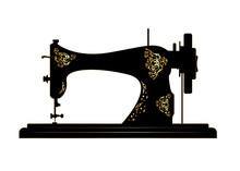 Tailor Vector Logo. Sewing Mac...