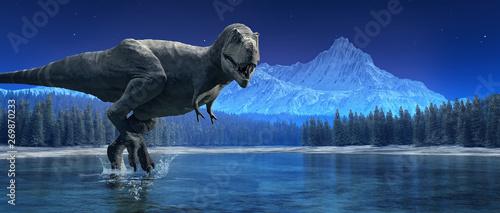 Fotomural Tyrannosaurus Rex