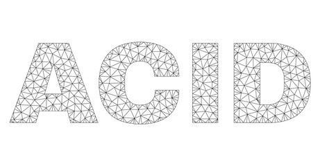 Mesh vector ACID text capti...