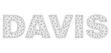 Mesh Vector DAVIS Text. Abstra...