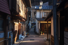 Morning At Yamanouchi Onsen City, Nagano