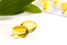 Fish Oil In Capsules. For Heal...