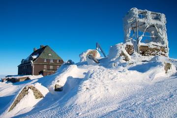 Karkonosze Zima - Góry Sudety