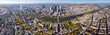 frankfurt am main - panorama from above