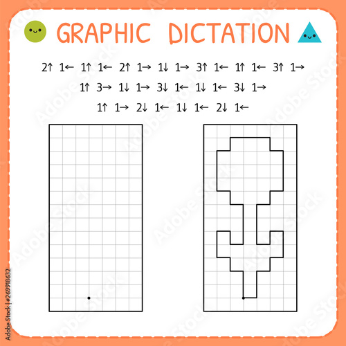 Fotomural Graphic dictation