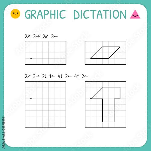 Tableau sur Toile Graphic dictation