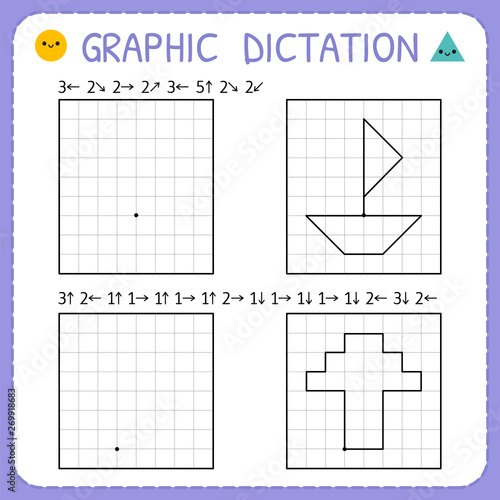 Graphic dictation Fotobehang