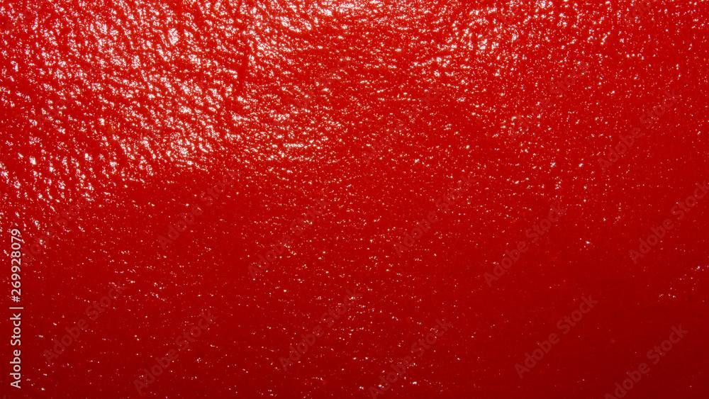Fotografía The texture of tomato paste.Ketchup background.Tomato sauce.
