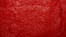 The Texture Of Tomato Paste.Ketchup Background.Tomato Sauce.