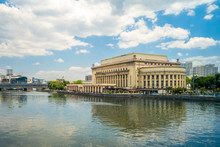 Manila Central Post Office Building In Philippines