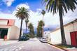 canvas print picture - Walking in City of Pasadena, California
