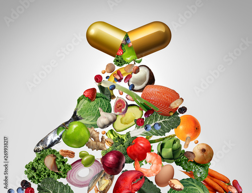 Fototapeta Food Supplement obraz