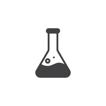 Test Tube Conical Flask Vector...