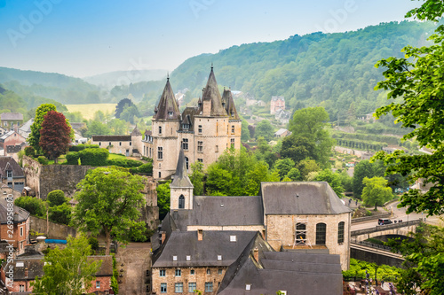 Fotografía  Durbuy, Walloon city in the Belgian province of Luxembourg