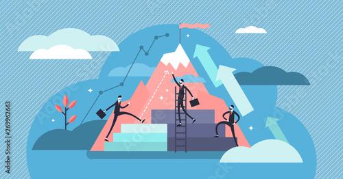 Fotografia  Career vector illustration