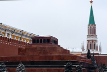 Red Square, Mausoleum, In The ...