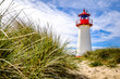 canvas print picture lighthouse at the nortsea