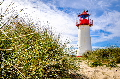Foto  lighthouse at the nortsea