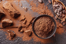 Composition With Cocoa Powder,...