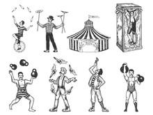 Retro Circus Performance Set S...