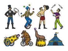 Retro Circus Performance Set C...