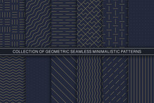 Collection Of Vector Geometric...