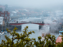 Red Bridge In Whitby In North ...