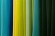assorted colored fabrics
