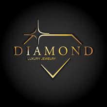 Icon Diamond. Vector Logo.