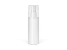 Realistic  Sprayer Bottle Isolated On White Background