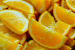 Slices Of Orange Ready For break fasting (Iftar)