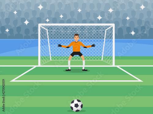 Cuadros en Lienzo goalkeeper
