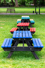 Different Coloured Tables And ...