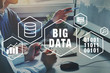 big data concept, business analytics of digital inforamtion