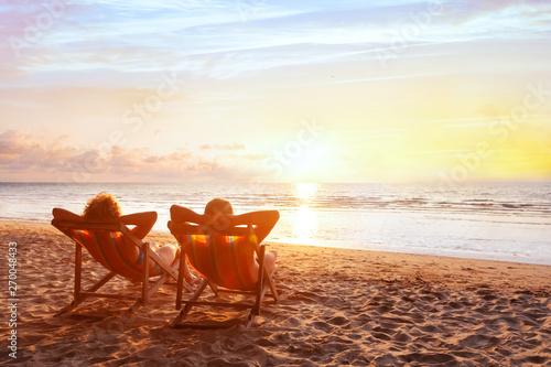 Photo beach holidays, romantic getaway retreat for couple, luxurious vacation