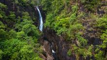 Aerial Of Klong Plu Waterfall, Koh Chang Island
