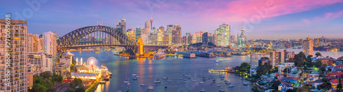 Photo Downtown Sydney skyline in Australia