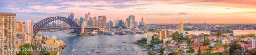 Downtown Sydney skyline in Australia - 270059838