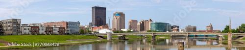 Photo sur Toile Bleu ciel Dayton CityScape
