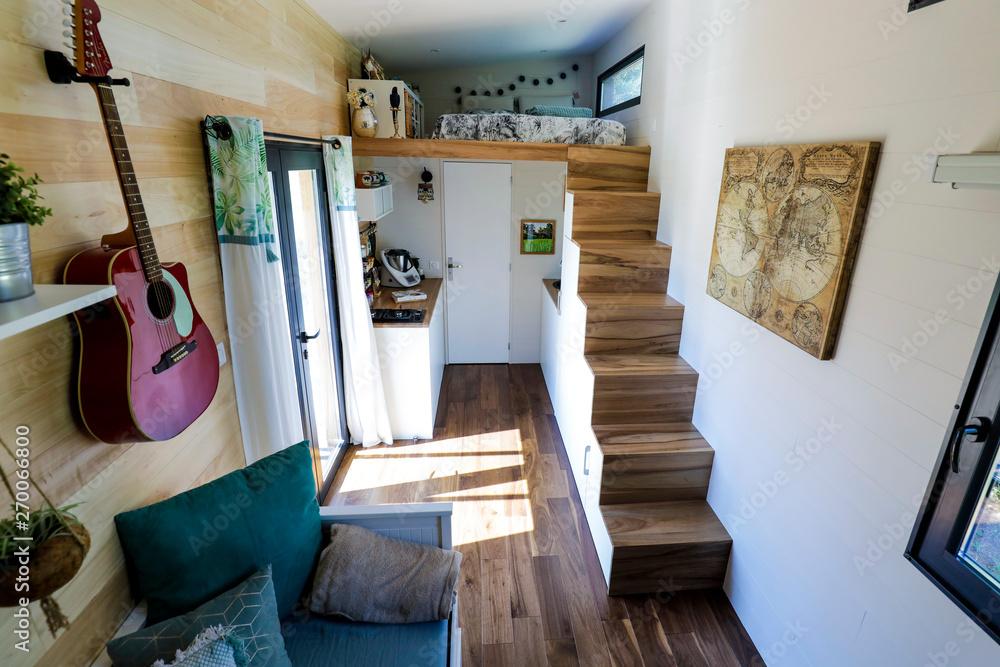 Fototapeta Tiny House, intérieur