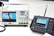 canvas print picture - Digital oscilloscope and spectrum analyzer