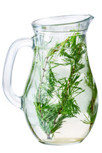 Larch Detox Infused Water Jug, Paths