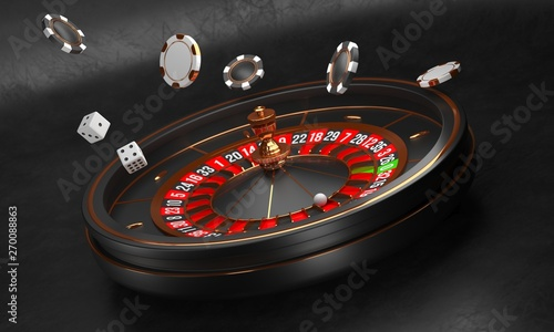 Fotografie, Obraz  Casino background